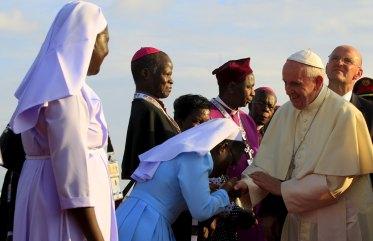 Continua il viaggio di Papa Francesco in Africa: la visita in Uganda